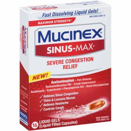 Mucinex Liquid Gels Printable Coupon
