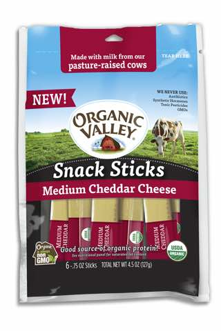 Organic Valley Snack Sticks Printable Coupon