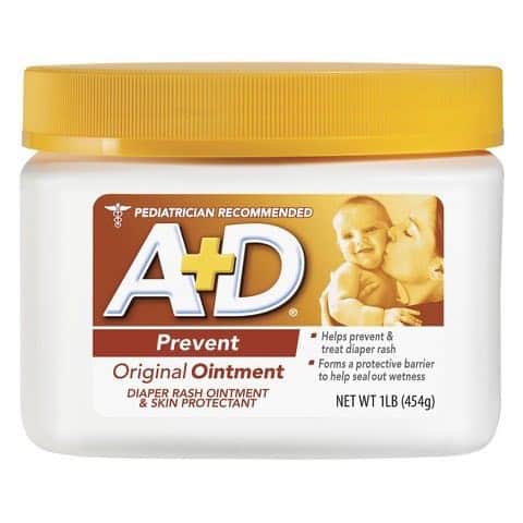 A+D Diaper Rash Cream Printable Coupon