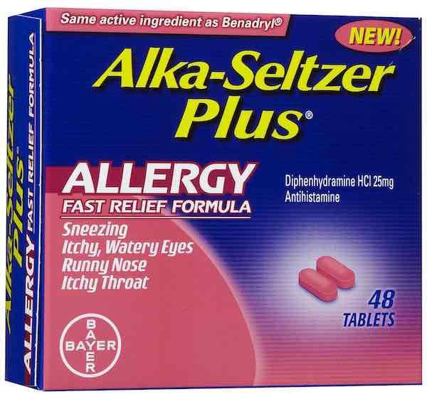 Alka-Seltzer Plus Allergy 48ct Printable Coupon
