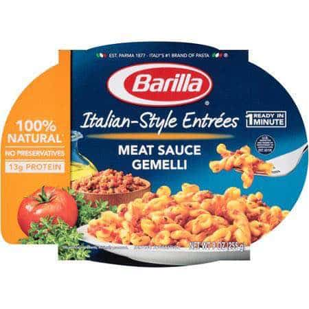 Barilla Italian Style Entrees Printable Coupon