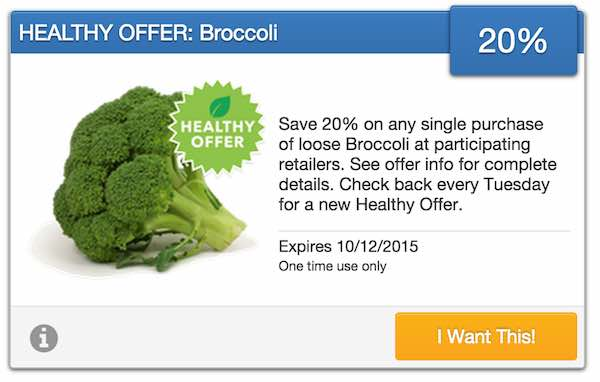 Broccoli SavingStar Offer