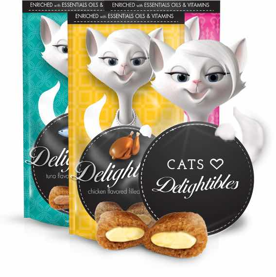 Delightables Cat Treats Printable Coupon