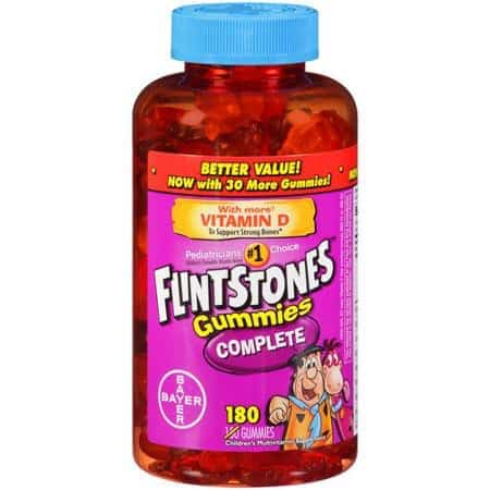 Flintstones Gummies Complete Multivitamin Printable Coupon