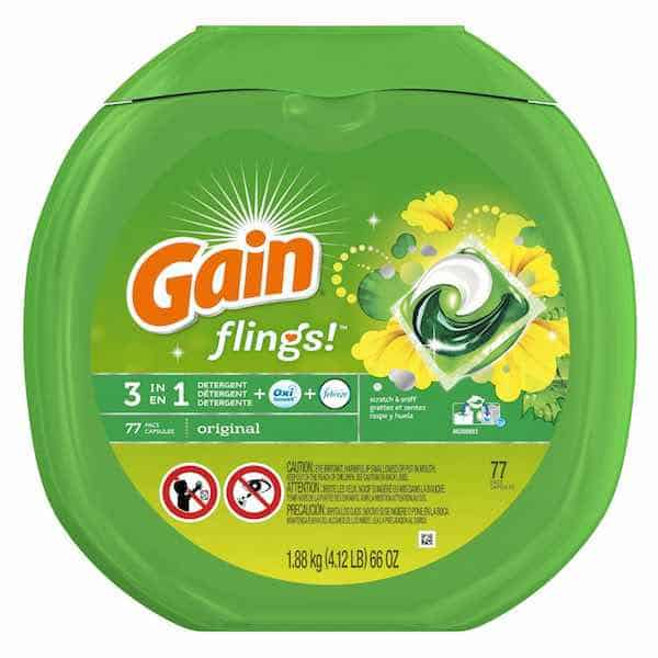 Gain Flings Printable Coupon
