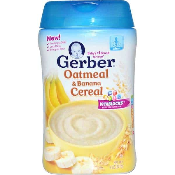 Gerber Cereal Printable Coupon