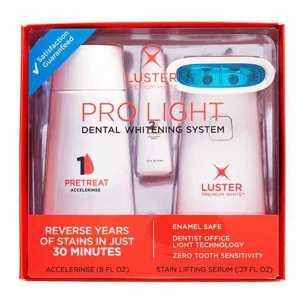 Luster Pro Light Dental Whitening System Printable Coupon