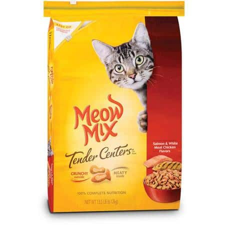 photo regarding Meow Mix Coupon Printable called $1.00 Off Meow Incorporate Dry Cat Food stuff Printable Coupon - Printable