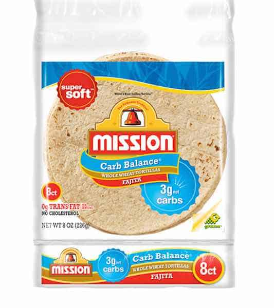 Mission Carb Balance Whole Wheat Soft Taco Tortillas Printable Coupon
