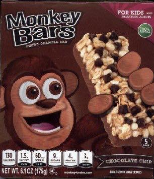 Monkey Bars Granola Bars Printable Coupon