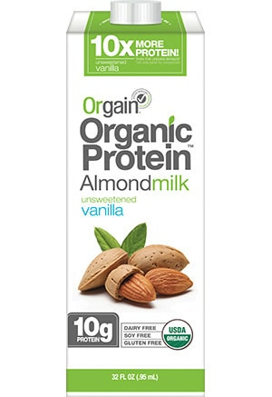 Orgain Organic Protein Almond Milk Printable Coupon