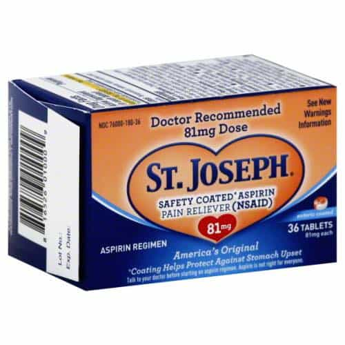 St. Joseph Aspirin 36ct Printable Coupon
