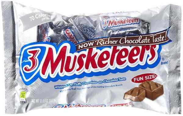 3 Musketeers Fun Size Bag Printable Coupon