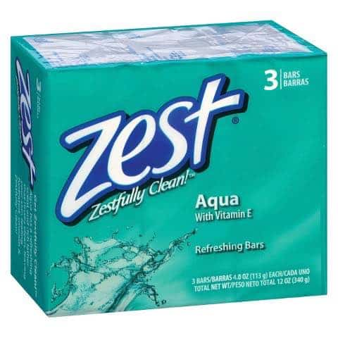 Zest Bar Soap 3 Pack Printable Coupon