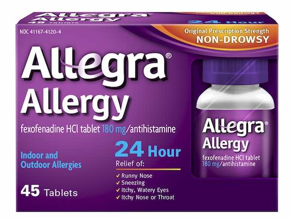 Allegra Allergy 24HR Printable Coupon