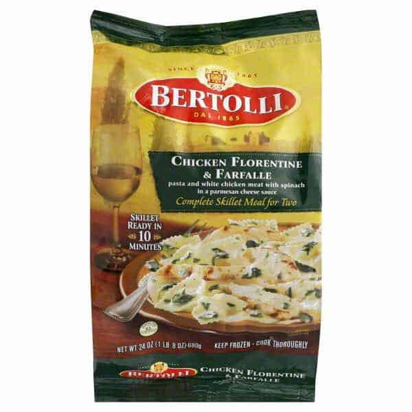Bertolli Meals For Two Printable Coupon