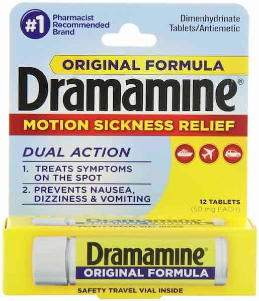 Dramamine Products Printable Coupon