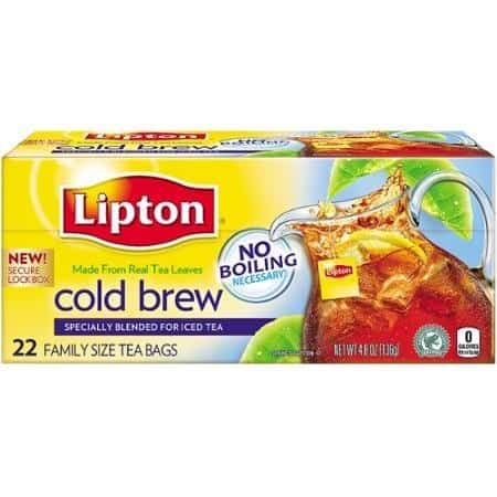 Lipton Cold Brew Tea Bags Printable Coupon