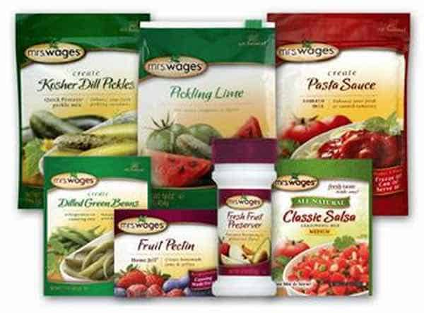 Mrs. Wages Products Printable Coupon