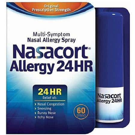 Nasacort Allergy 24HR 60 Spray Printable Coupon