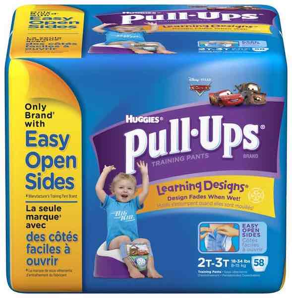 PULL-UPS Learning Designs Training Pants Printable Coupon
