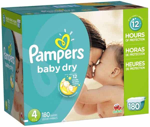 Discount coupons for baby diapers