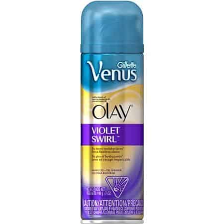 Venus Violet Swirl Shave Gel Printable Coupon
