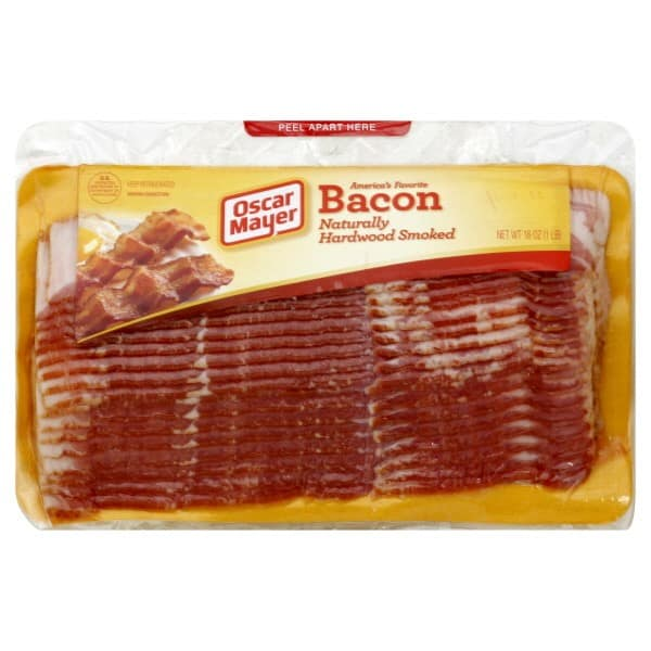 Bacon 1 00 Off Any One Oscar Mayer Bacon Mega Pack With Printable Coupon additionally 00044700019764 besides A8AA8EAA E10B 11DF A102 FEFD45A4D471 besides Sara Lee 45 Calories Delightful Multi Grain Bread together with Bacon Nutritional Information Uk. on oscar mayer cooked bacon nutrition