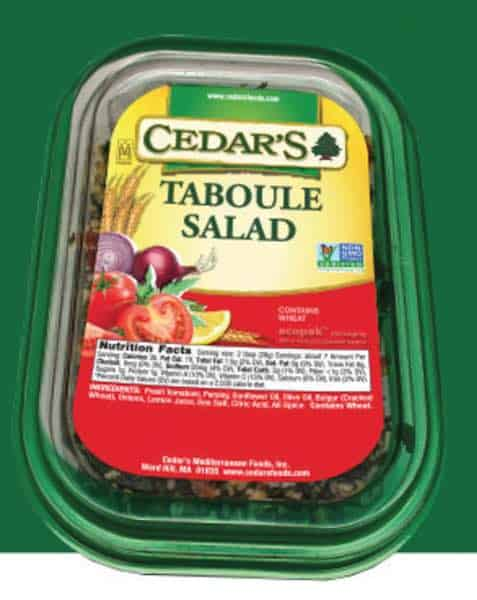 Cedar Taboule Salad Printable Coupon