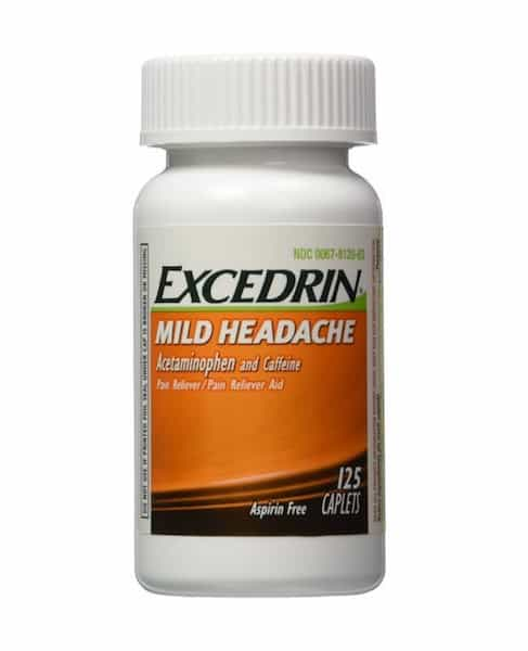 Excedrin Mild Headache 125ct Printable Coupon