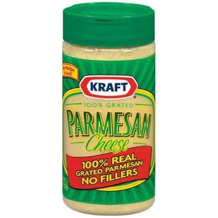 KRAFT Grated Parmesan Cheese Printable Coupon
