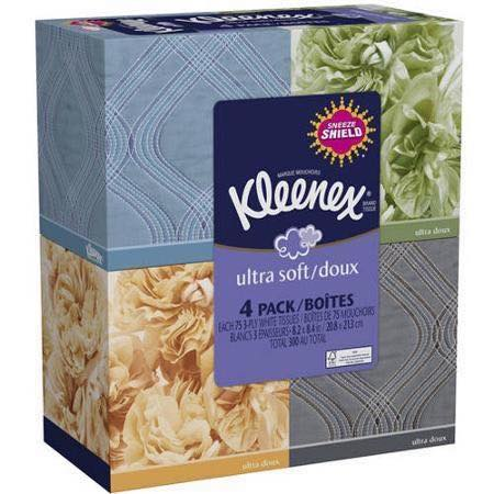 Kleenex 4pk Boxes Printable Coupon