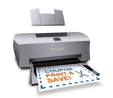 Printer Printable Coupon