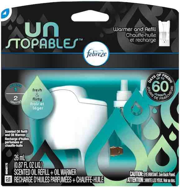Unstopables Pluggable Scented Oil Printable Coupon