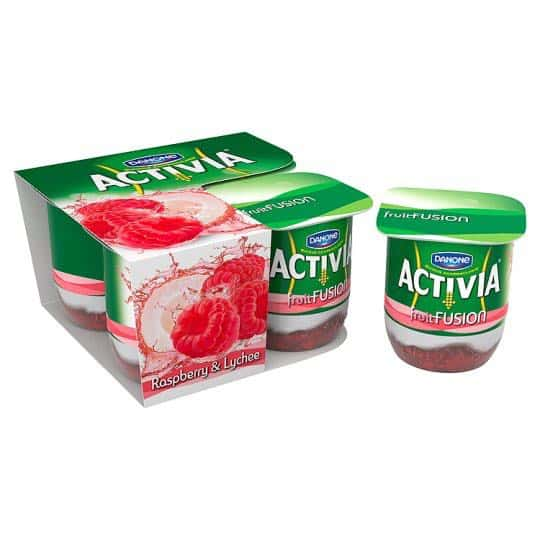 Activia Fruit Fusion 4pk Printable Coupon
