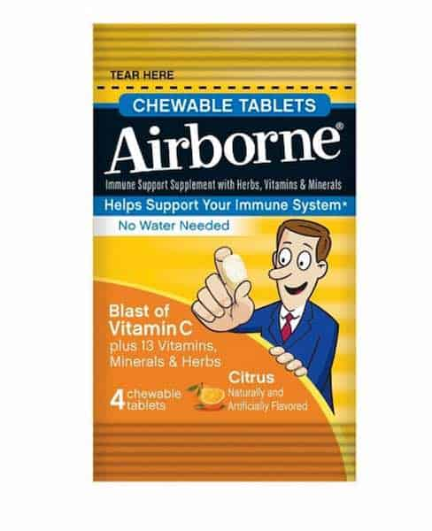 Airborne Chewables 4ct Printable Coupon