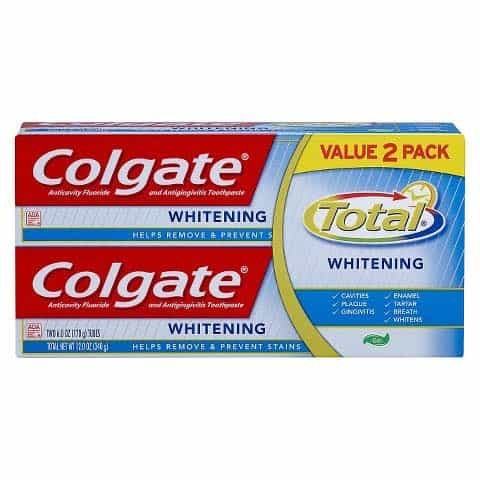 Colgate Total Toothpaste Twin Pack Printable Coupon