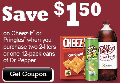 Dr. Pepper Printable Coupon