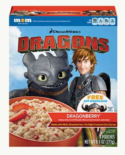 DreamWorks Instant Oatmeal Printable Coupon