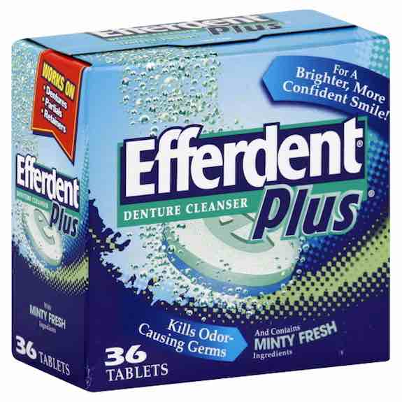 Efferdent Denture Cleaner Product Printable Coupon