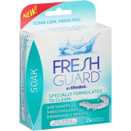 Coupon for mouth guard