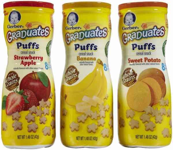 Gerber Graduates Puffs Printable Coupon