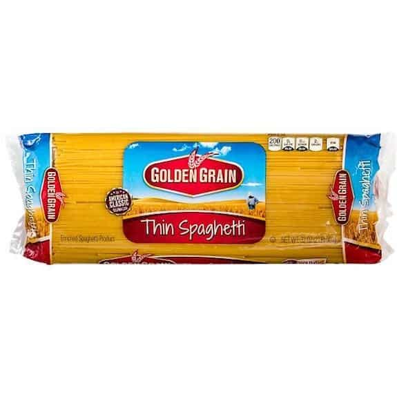 Golden Grain Pasta Products Printable Coupon