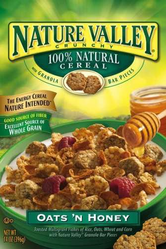 Nature Valley Oat Cereal Printable Coupon