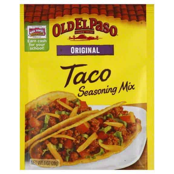 Old El Paso Taco Seasoning Mix Printable Coupon