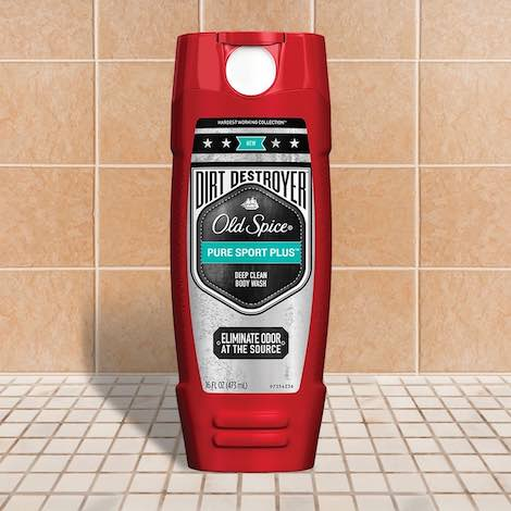 Old Spice Dirt Destroyer Body Wash Printable Coupon