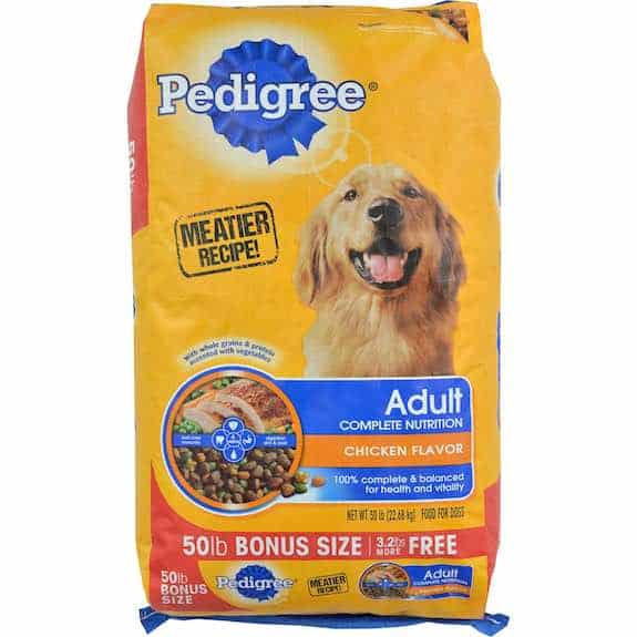 Pedigree Dry Dog Food 50lbs Printable Coupon