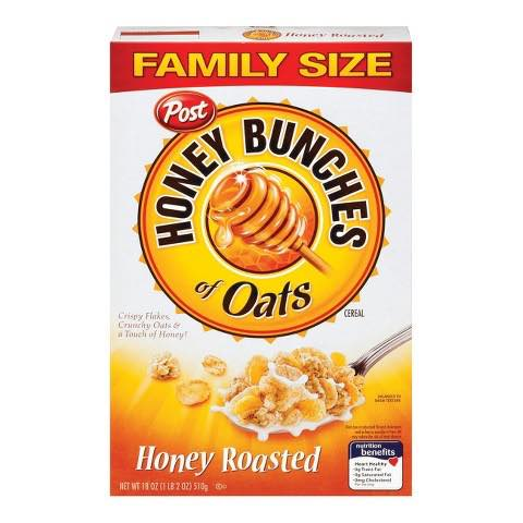 Post Honey Bunches of Oats Cereal Printable Coupon