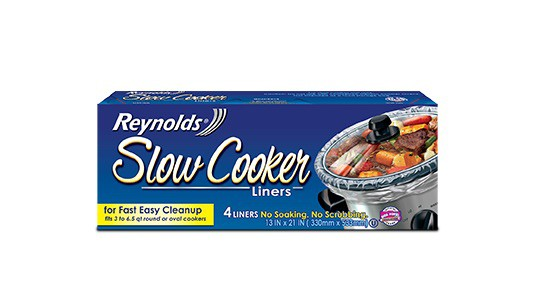 Reynolds Slow Cooker Liners Printable Coupon