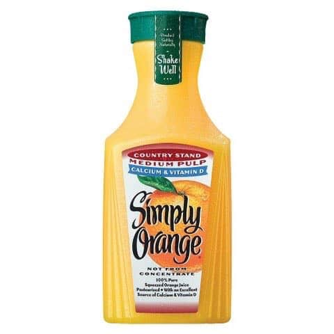 Printable coupon for orange juice
